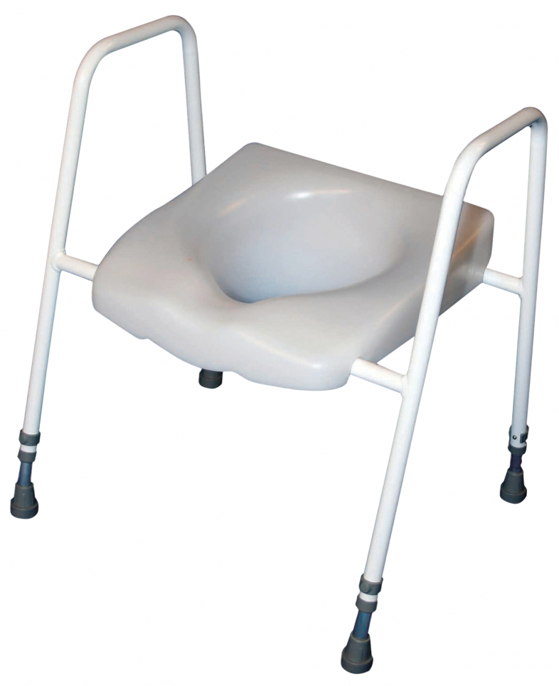 Raised Toilet Seat and Frame Image 1