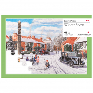 35 piece puzzle Winter Snow
