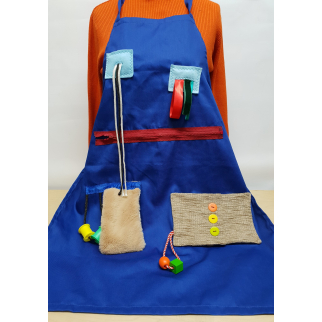 Fiddle Muff Sensory Apron