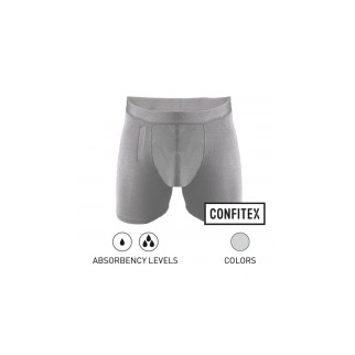 Men's Washable Incontinence Briefs with Fly